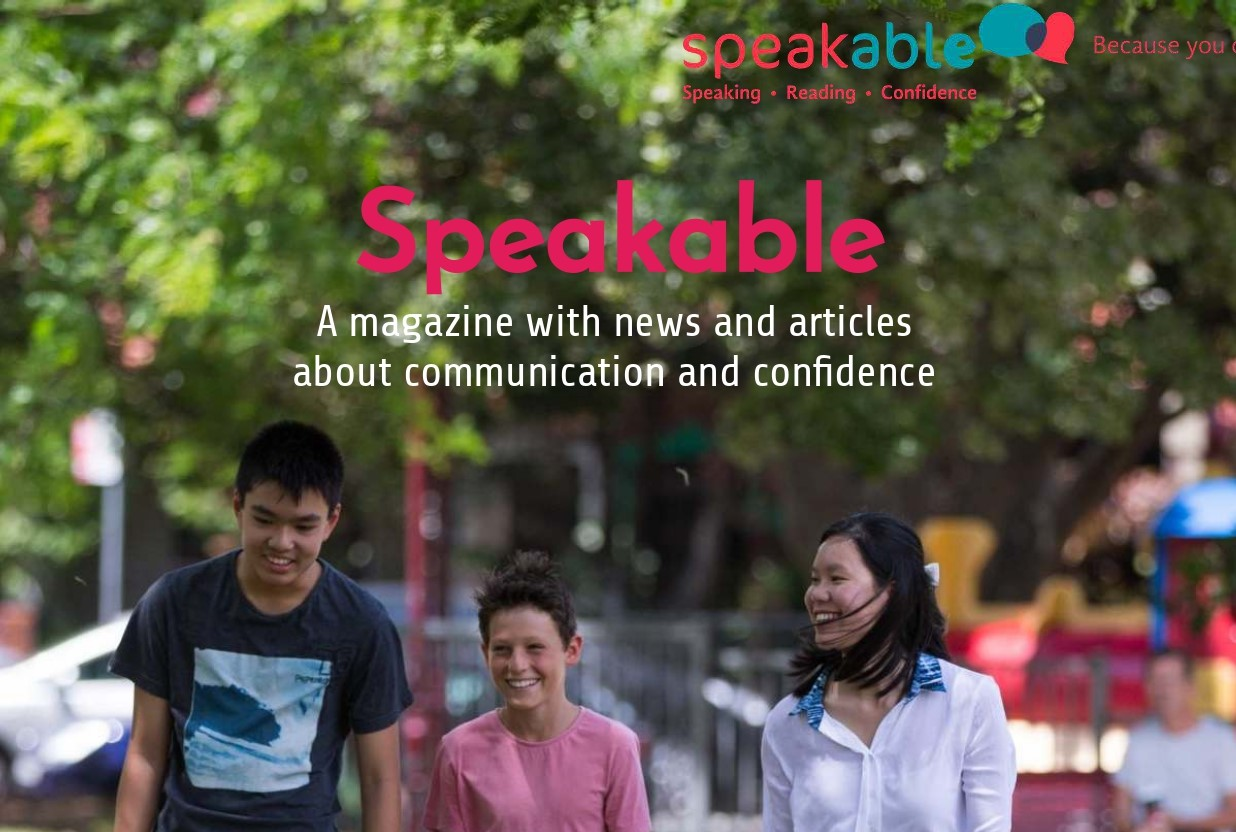 The third issue of Speakable Magazine is ready